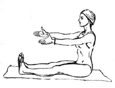 Упражнение 5 - исходное положение