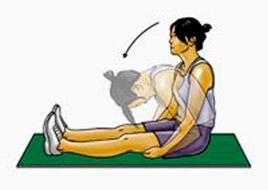 Упражнение - наклоны вниз
